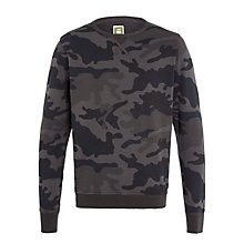 Buy G-Star Raw Ainsdock Camo Sweatshirt, Mazarine Blue Online at johnlewis.com