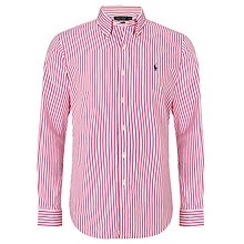 Buy Polo Golf by Ralph Lauren Vertical Stripe Shirt Online at johnlewis.com