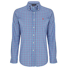 Buy Polo Golf by Ralph Lauren Check Cotton Shirt Online at johnlewis.com