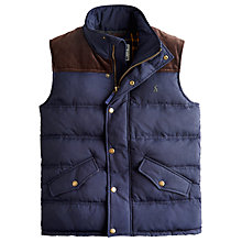 Buy Joules Burbank Gilet, Navy Online at johnlewis.com