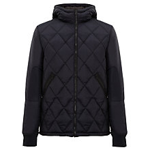 Buy G-Star Raw Fibrick Hooded Jacket, Mazarine Blue Online at johnlewis.com