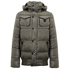 Buy G-Star Raw Whistler Puffer Bomber Jacket, Raw Grey Online at johnlewis.com