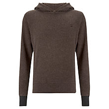 Buy G-Star Raw Lock Hooded Jumper, Dark Nut Online at johnlewis.com