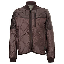 Buy G-Star Raw Clack Bomber Jacket, Dark Taupe Fungi Online at johnlewis.com