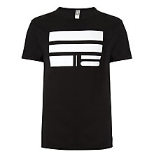 Buy G-Star Raw Rad Cord Short Sleeve T-Shirt, Black Online at johnlewis.com