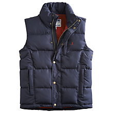 Buy Joules Rutland Quilted Gilet, Navy Online at johnlewis.com