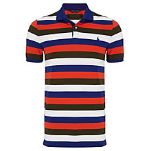 Buy Polo Golf by Ralph Lauren Multi Block Stripe Polo Shirt Online at johnlewis.com