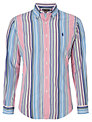 Polo Golf by Ralph Lauren Stripe Cotton Shirt, Blue/Navy