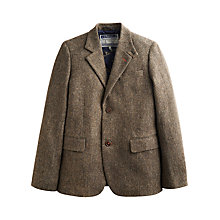 Buy Joules Langworth Tweed Blazer, Brown Online at johnlewis.com