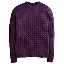 Buy Joules Ewan Cable Knit Jumper Online at johnlewis.com