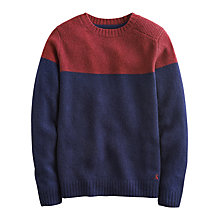 Buy Joules Tedmund Wool Jumper, Red Wine Online at johnlewis.com