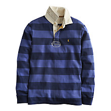 Buy Joules Norwell Cotton Rugby Shirt, Navy Online at johnlewis.com