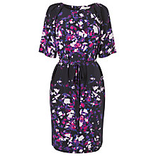 Buy L.K. Bennett Vintage Floral Dress, Navy Print Online at johnlewis.com