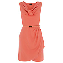 Buy Oasis Lola Cowl Neck Crepe Dress Online at johnlewis.com