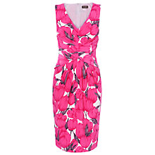 Buy Phase Eight Tulip Print Dress, Fushcia Online at johnlewis.com