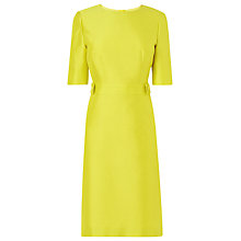 Buy L.K. Bennett Bally Dress, Lime Online at johnlewis.com