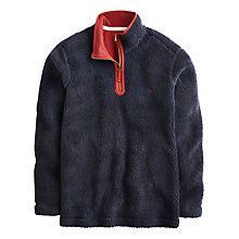 Buy Joules Malvern Half Zip Sweatshirt, Marine Navy Online at johnlewis.com