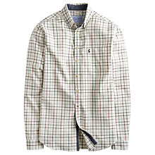 Buy Joules Wilby Checked Shirt, Cream Online at johnlewis.com