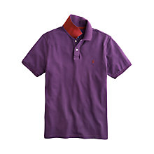 Buy Joules Maxwell Polo Shirt, Dark Violet Online at johnlewis.com