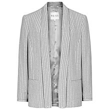 Buy Reiss Violet Spot Fluid Jacket, Silver Online at johnlewis.com