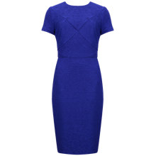 Buy Ted Baker Textured Bodycon Dress, Mid Purple Online at johnlewis.com