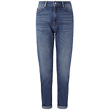 Buy Whistles Long Length Tyler Boyfriend Jeans, Denim Online at johnlewis.com