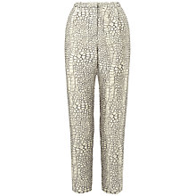 Buy Whistles Dragon Skin-Effect Trousers, Multi Online at johnlewis.com