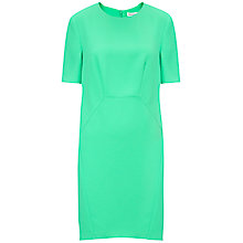 Buy Whistles Meghan Sculpted Crepe Dress, Green Online at johnlewis.com