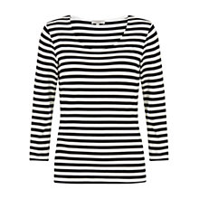 Buy Hobbs Catherine Top, Navy/Ivory Online at johnlewis.com