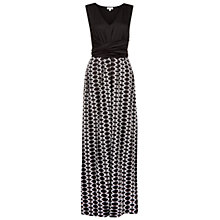 Buy Hobbs Kaye Dress, Black/Ivory Online at johnlewis.com