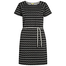 Buy NW3 by Hobbs Charlie Cat Dress, Grey Marl/Black Online at johnlewis.com