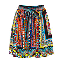 Buy Warehouse Placement Print Tribal Skirt, Multi Online at johnlewis.com