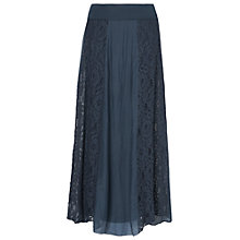 Buy Phase Eight Annette Lace Maxi Skirt, Navy Online at johnlewis.com