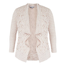 Buy Chesca Striped Fancy Jersey Shrug, Ivory Online at johnlewis.com