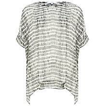 Buy Chesca Neptune Striped Kaftan, Grey Online at johnlewis.com