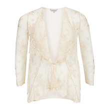 Buy Chesca Scalloped Lace Cover Up, Vanilla Online at johnlewis.com
