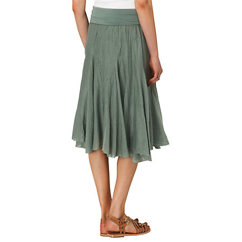 Buy Phase Eight Natalia Skirt, Khaki Online at johnlewis.com