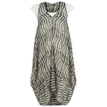 Buy Chesca Neptune Striped Chiffon Dress, Grey Online at johnlewis.com