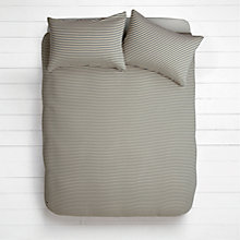 Buy House by John Lewis Stripe Jersey Duvet Cover and Pillowcase Set Online at johnlewis.com