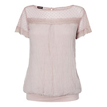 Buy Phase Eight Made in Italy Nel Lace and Silk Blouse Online at johnlewis.com