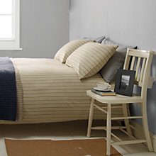 Buy John Lewis Croft Collection Selby Flannelette Bedding Online at johnlewis.com