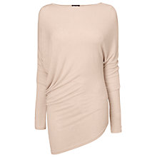 Buy Phase Eight Made in Italy Eve Asymmetric Top, Pink Online at johnlewis.com