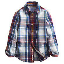 Buy Little Joule Boys' Lachlan Check Shirt, Multi Online at johnlewis.com
