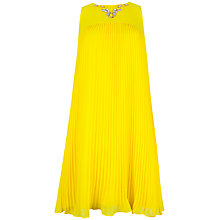Buy Ted Baker Arleen Embellished Dress, Sunflower Online at johnlewis.com