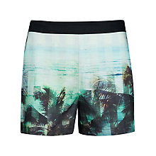 Buy Ted Baker Jasiri Palm Tree Paradise Shorts, Light Pink Online at johnlewis.com