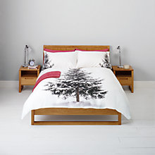 Buy John Lewis Christmas Tree Duvet Cover and Pillowcase Set Online at johnlewis.com
