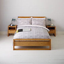 Buy John Lewis Lars Duvet Cover and Pillowcase Set Online at johnlewis.com
