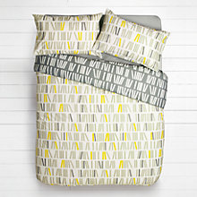 Buy House by John Lewis Domino Blocks Duvet Cover and Pillowcase Set Online at johnlewis.com