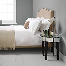 Buy John Lewis Valencia Hand Embroidered Bedding, White/White Online at johnlewis.com
