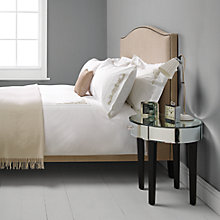Buy John Lewis Valencia Embroidered Bedding, Natural Online at johnlewis.com